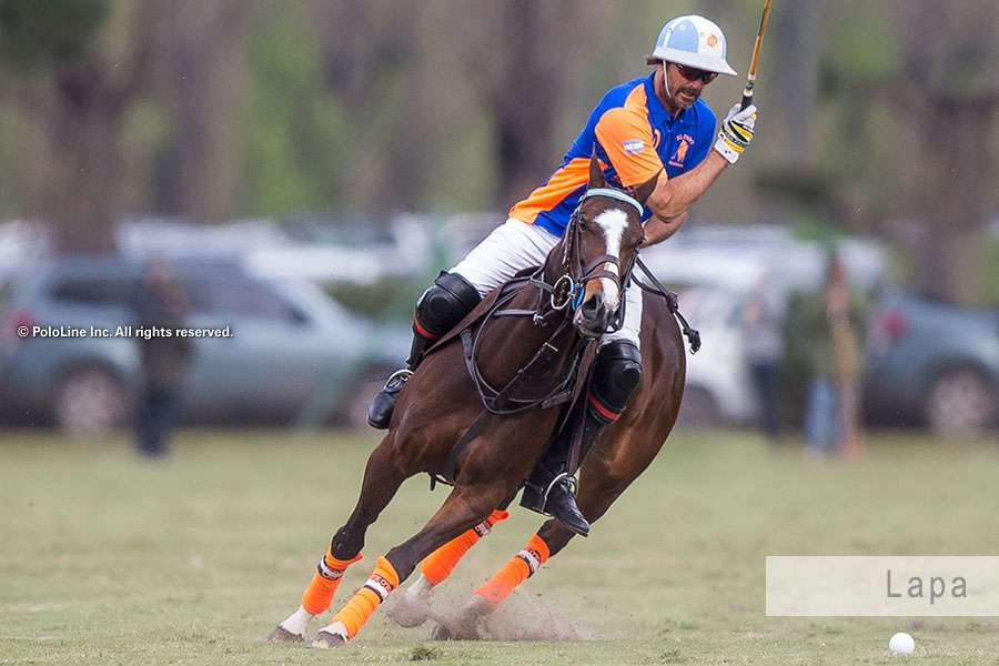 Dolfina Lapa clone playing Triple Crown. Credit: PoloLIne Inc